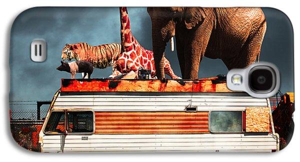 Barnum And Baileys Fabulous Road Trip Vacation Across The Usa Ci Galaxy S4 Case