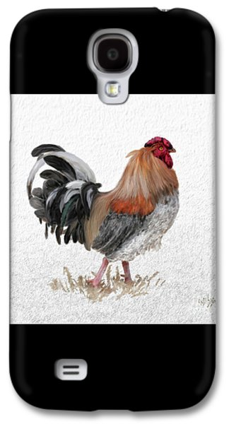 Barnyard Boss Galaxy S4 Case by Lois Bryan