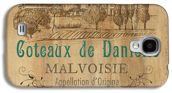 Barrel Wine Label 2 Galaxy S4 Case by Debbie DeWitt