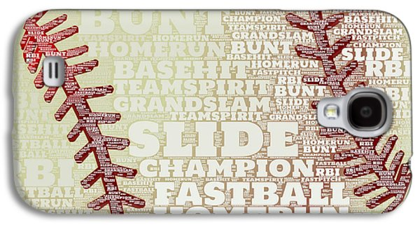 Baseball 2 Galaxy S4 Case by Brandi Fitzgerald