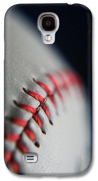 Baseball Fan Galaxy S4 Case by Rachelle Johnston