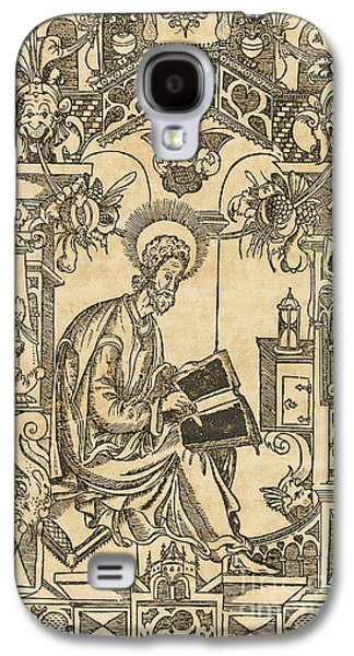 Basil Of Caesarea, Also Called Saint Basil The Great Galaxy S4 Case by Pyotr Mstislavets