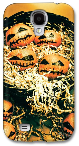 Basket Of Little Halloween Horrors Galaxy S4 Case by Jorgo Photography - Wall Art Gallery