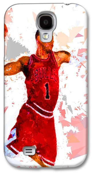Basketball 1 Galaxy S4 Case by Movie Poster Prints