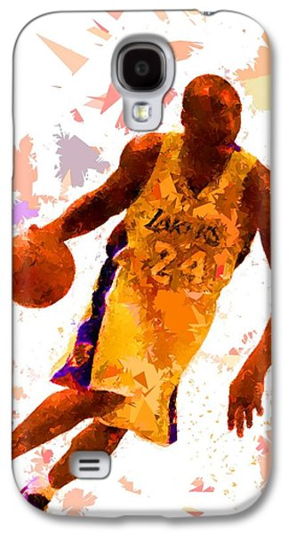 Basketball 24 Galaxy S4 Case by Movie Poster Prints