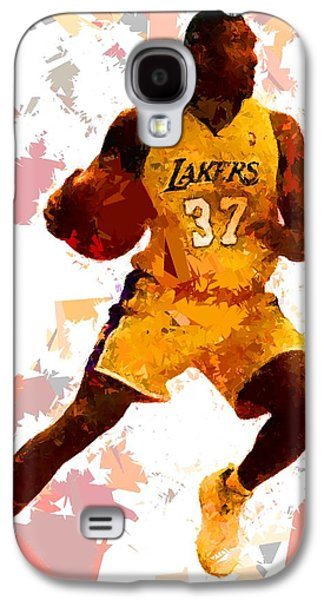 Basketball 37 Galaxy S4 Case by Movie Poster Prints