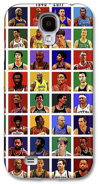 Basketball Legends Galaxy S4 Case by Semih Yurdabak