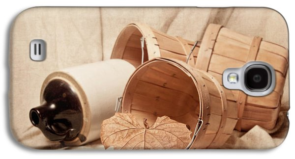 Baskets With Crock Galaxy S4 Case by Tom Mc Nemar