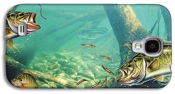 Bass Pond Galaxy S4 Case by Jon Wright