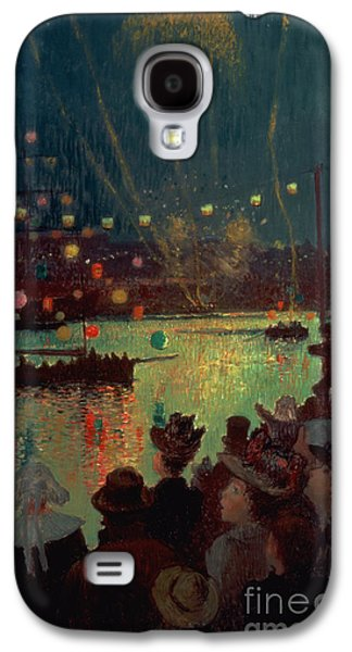 Bastille Day At Lorient Galaxy S4 Case by Henry Moret