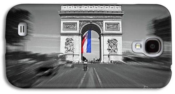 International Travel Galaxy S4 Case - Bastille Day by Delphimages Photo Creations