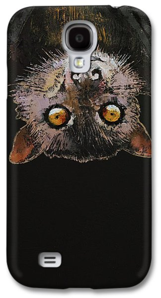 Bat Galaxy S4 Case by Michael Creese