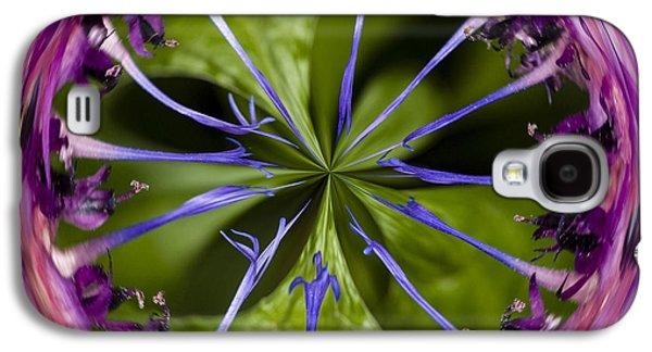 Batchelor Button Orb By Jean Noren Galaxy S4 Case by Jean Noren