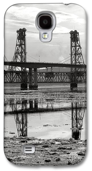 Bath Bridges In Winter Galaxy S4 Case by Olivier Le Queinec