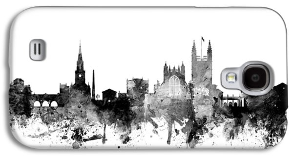 Bath England Skyline Cityscape Galaxy S4 Case by Michael Tompsett