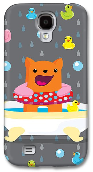 Bath Time  Galaxy S4 Case by Seedys