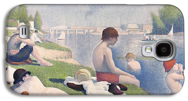 Bathers At Asnieres Galaxy S4 Case by Georges Pierre Seurat