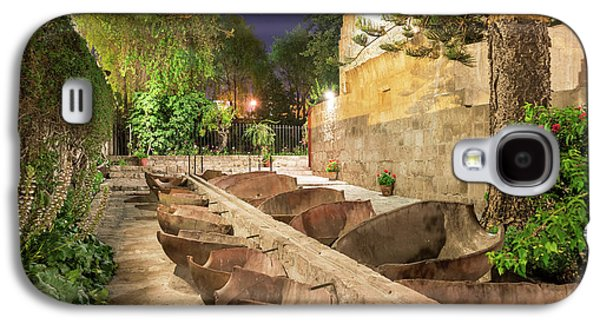 Bathing Area In Santa Catalina Monastery Galaxy S4 Case by Jess Kraft