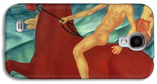 Bathing Of The Red Horse Galaxy S4 Case by Kuzma Sergeevich Petrov-Vodkin