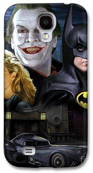 Jack Nicholson Galaxy S4 Case - Batman 1989 by Paul Tagliamonte
