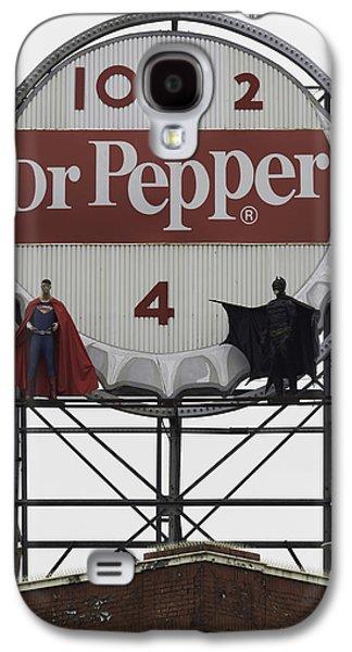 Batman Vs Superman 01 Galaxy S4 Case by Teresa Mucha