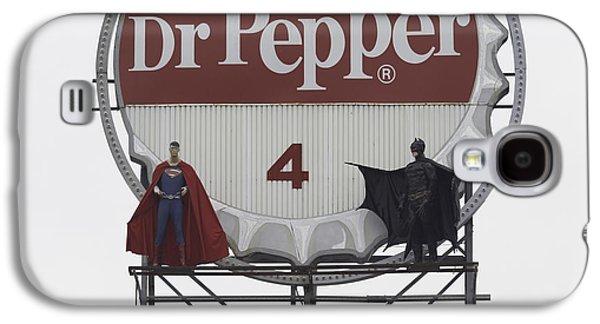 Batman Vs. Superman 04 Galaxy S4 Case by Teresa Mucha
