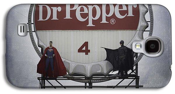 Batman Vs Superman 06 Galaxy S4 Case by Teresa Mucha