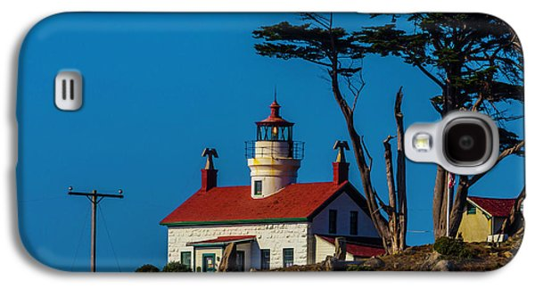 Battery Point Lighthouse Cresent City Galaxy S4 Case by Garry Gay