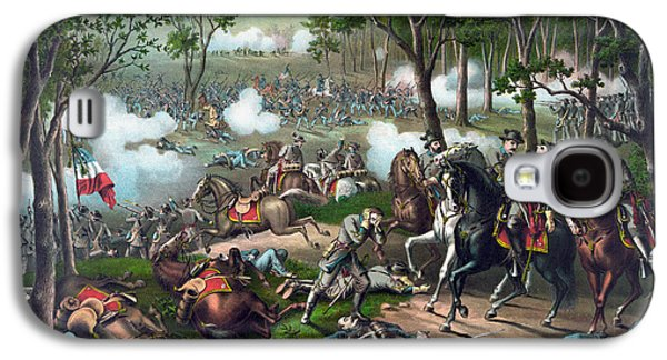 Battle Of Chancellorsville - Death Of Stonewall Galaxy S4 Case