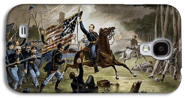 Battle Of Chantilly - Civil War Galaxy S4 Case by War Is Hell Store
