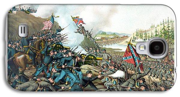 Battle Of Franklin - Civil War Galaxy S4 Case by War Is Hell Store