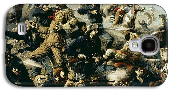 Battle Of Little Bighorn Galaxy S4 Case by Edgar Samuel Paxson