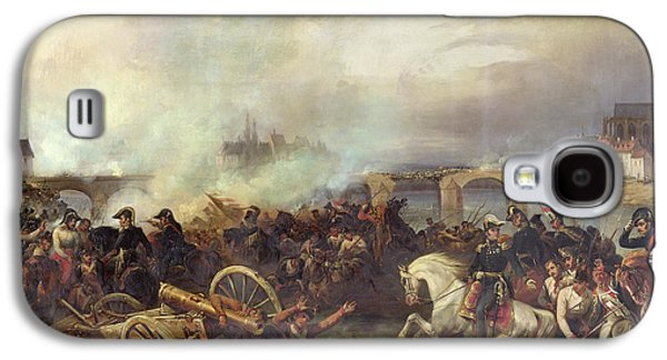 Battle Of Montereau Galaxy S4 Case by Jean Charles Langlois