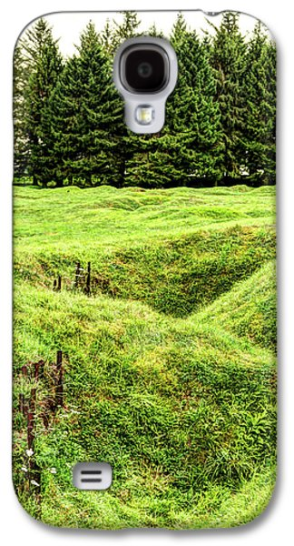 Battle Of The Somme Trench At Beaumont-hamel - Vintage Version Galaxy S4 Case