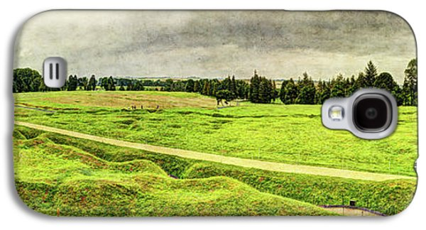Battle Of The Somme Trench Frontline At Beaumont-hamel - Vintage Version Galaxy S4 Case
