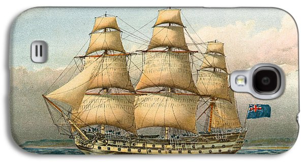 Battle Ship Galaxy S4 Case by William Frederick Mitchell