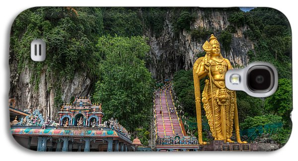 Rail Digital Galaxy S4 Cases - Batu Caves Galaxy S4 Case by Adrian Evans