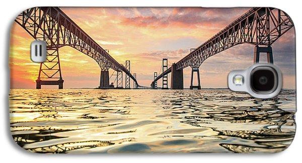 Bay Bridge Impression Galaxy S4 Case