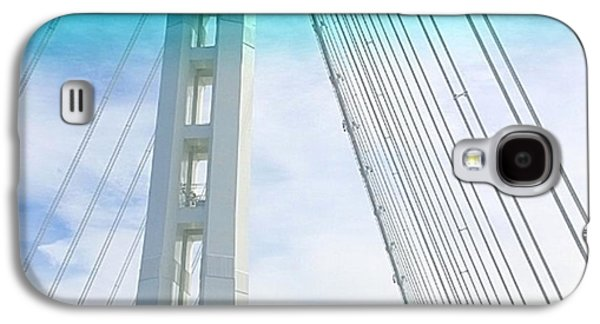 Sky Galaxy S4 Case - Bay #bridge Section. Love The Aqua Tint by Shari Warren