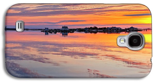 Bay Sunrise Galaxy S4 Case by Mike Lang
