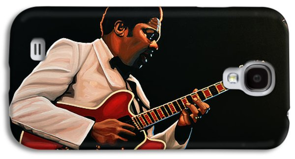 B. B. King Galaxy S4 Case by Paul Meijering