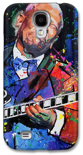 Bb King Portrait Galaxy S4 Case by Richard Day