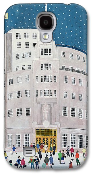 Bbc's Broadcasting House  Galaxy S4 Case by Judy Joel