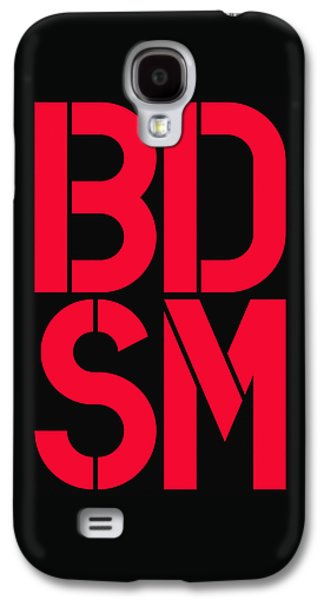 Bdsm Black And Red Galaxy S4 Case