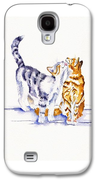 Cat Galaxy S4 Case - Be Cherished by Debra Hall