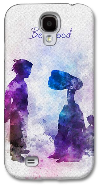 Be Good Galaxy S4 Case by Rebecca Jenkins