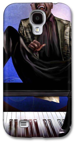 Be Good To Ya - Ray Charles Galaxy S4 Case by Reggie Duffie