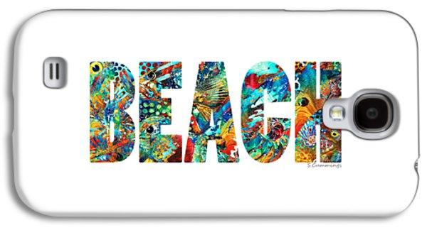 Beach Art - Beachy Keen - By Sharon Cummings Galaxy S4 Case by Sharon Cummings