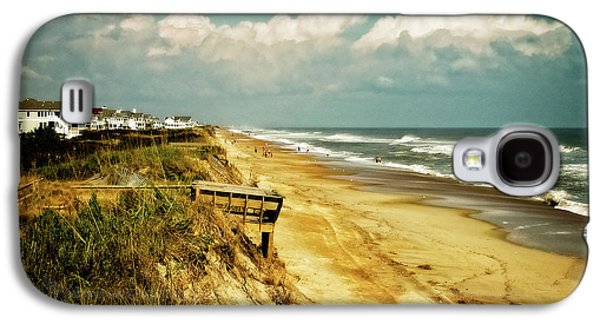 Beach At Corolla Galaxy S4 Case