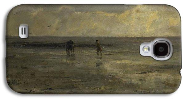 Beach At Night Galaxy S4 Case by Jacob Maris